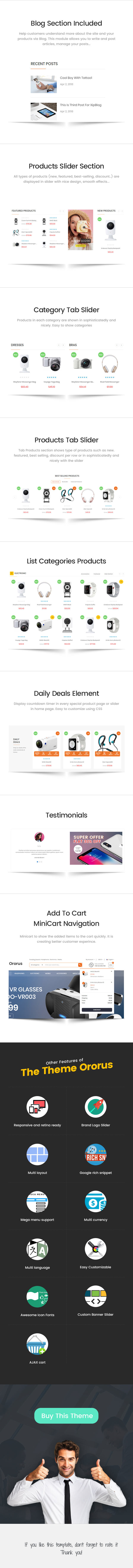 Electronics eCommerce Bootstrap 4 Template